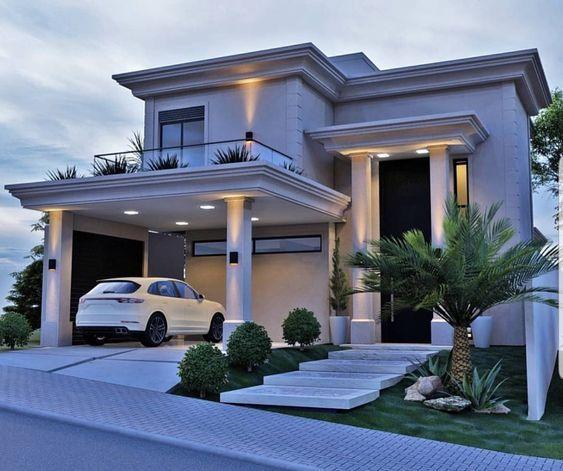 Modernas casas bonitas