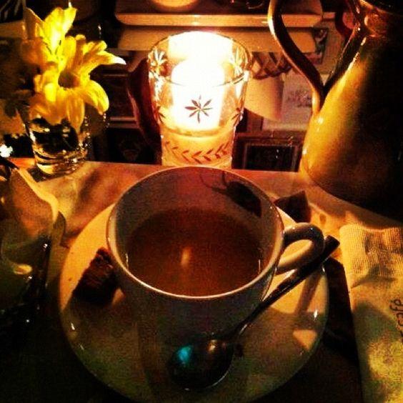 Chá da tarde....