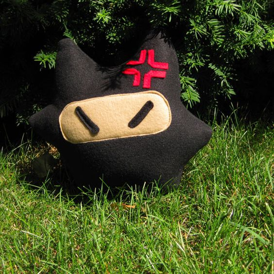 Ninja Mau Pillow Plush