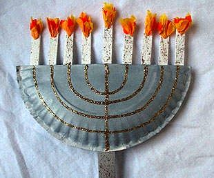 Things to Make and Do, Crafts and Activities for Kids - The Crafty Crow: Hanukah Crafts