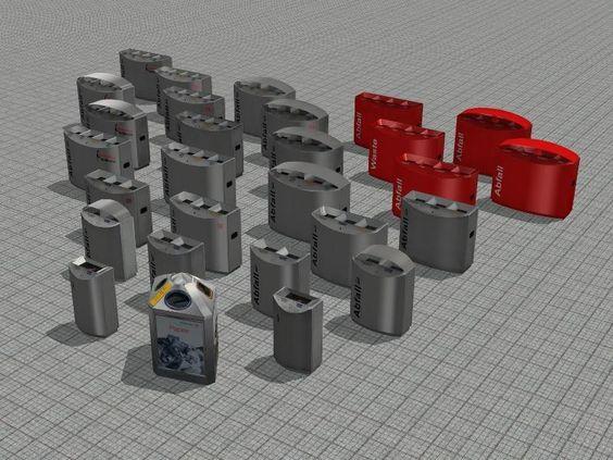 Moderne Edelstahl- Wertstoffbehälter Typ FF1, FF2, FF3, FF4, B4. Ab #EEP7 http://bit.ly/Moderne-Edelstahl-Werkstoffbehälter-Typ-FF1-FF2-FF3-FF4-B4