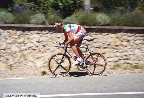 Andrea Taffi at its best.. Italian Champion and yet on hell of a cyclist