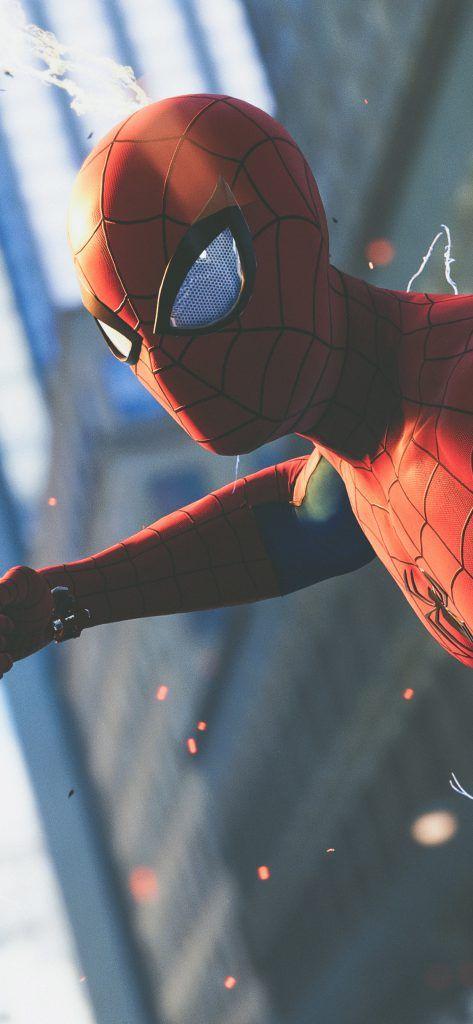 Iphone X Wallpaper Screensaver Background 157 Spiderman 4k Ultra