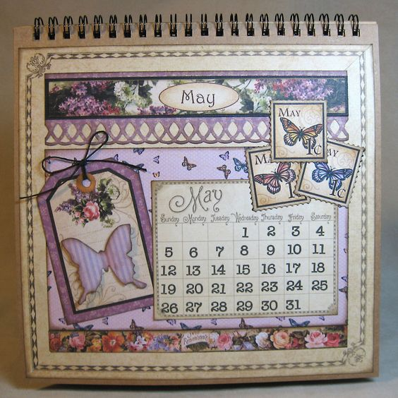 Eclectic Paperie: Graphic 45 Place in Time Calendar