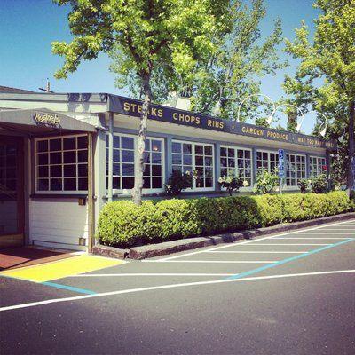 Mustards Grill. Yountville, California.