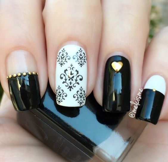 Black and White Nail Polish - The Essentials   heroine.nyc