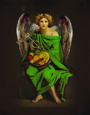 The Divine Lotus: Autumn's Angel