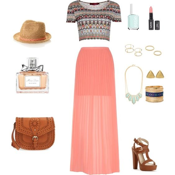 Romantic escapade by xogurl on Polyvore featuring mode, Boohoo, Yumi, Sole Society, House of Harlow 1960, Jeweliq, Christian Dior and Essie