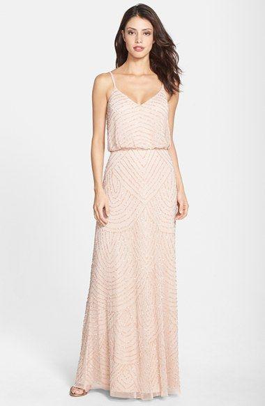 Blush Wedding Dress Petite : Sequin bridesmaid dress a blush rose gold