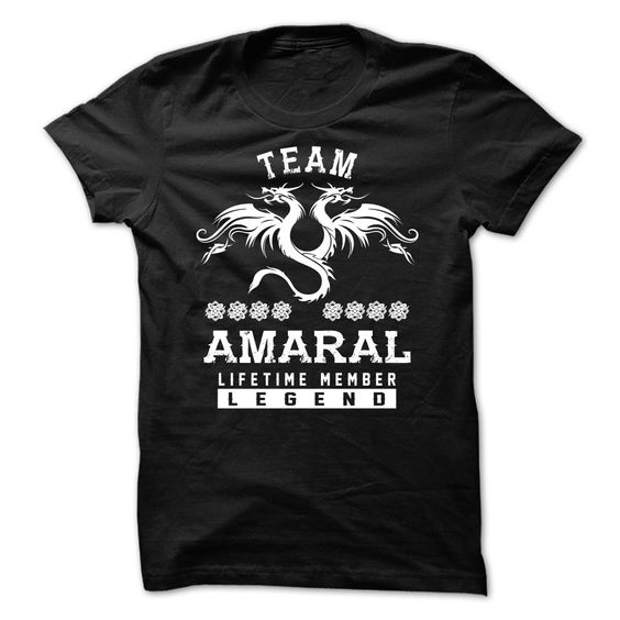 TEAM AMARAL LIFETIME MEMBER T Shirts, Hoodies. Check price ==► https://www.sunfrog.com/Names/TEAM-AMARAL-LIFETIME-MEMBER-hdxmfudvce.html?41382