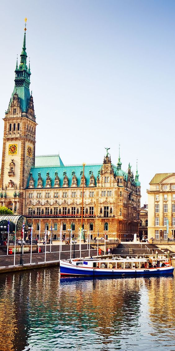 Hamburgo, Alemania    Fotografía increíble de las ciudades y Señales famosas de alrededor del mundo