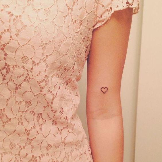 35 Mini Tatuagens Em TraçO Preto: