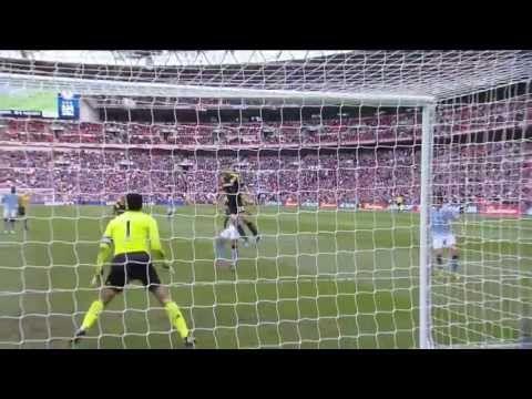 FOOTBALL -  Sergio Aguero goal Manchester City vs Chelsea 2-0, FA Cup Semi Final - http://lefootball.fr/sergio-aguero-goal-manchester-city-vs-chelsea-2-0-fa-cup-semi-final/