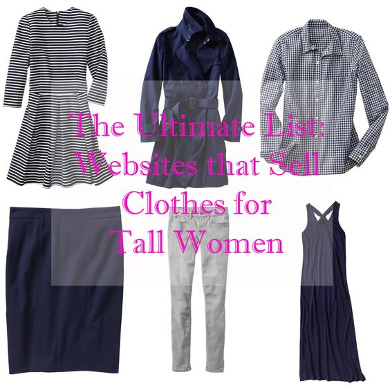 Clothing for tall women catalogue