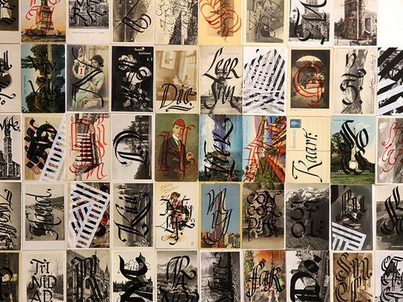 Caligrafia & Tipografia Experimental com Yomar Augusto | IdeaFixa | ilustração, design, fotografia, artes visuais, inspiração, expressão
