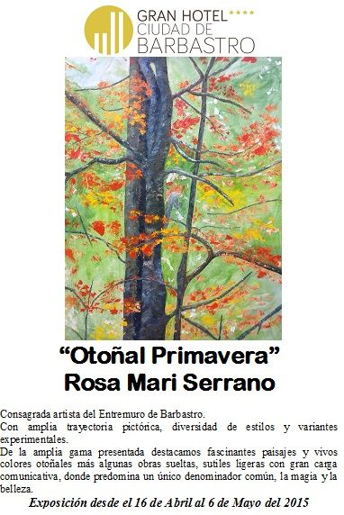 Información exposición Rosa Mari Serrano