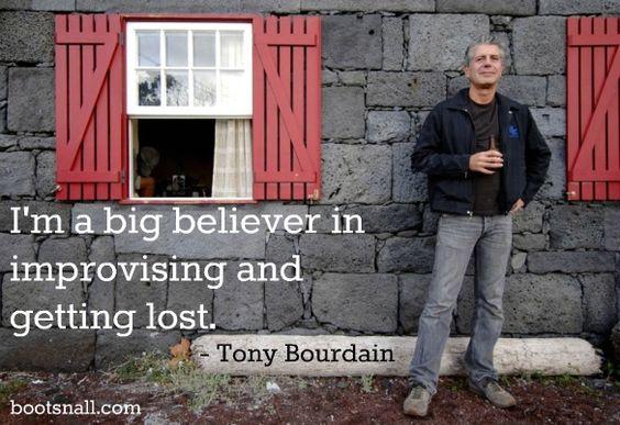 """How I Travel: Anthony Bourdain"" on BootsnAll.com"