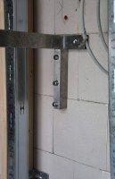 Wandhalterung aus Edelstahl für Waschbecken aus Stein oder Metall