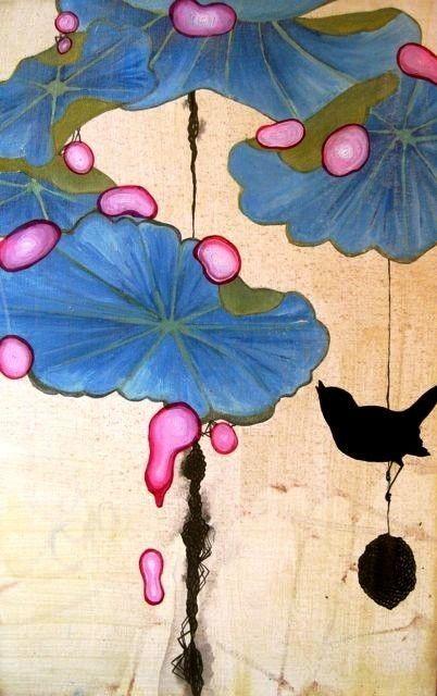Black bird, Blue love