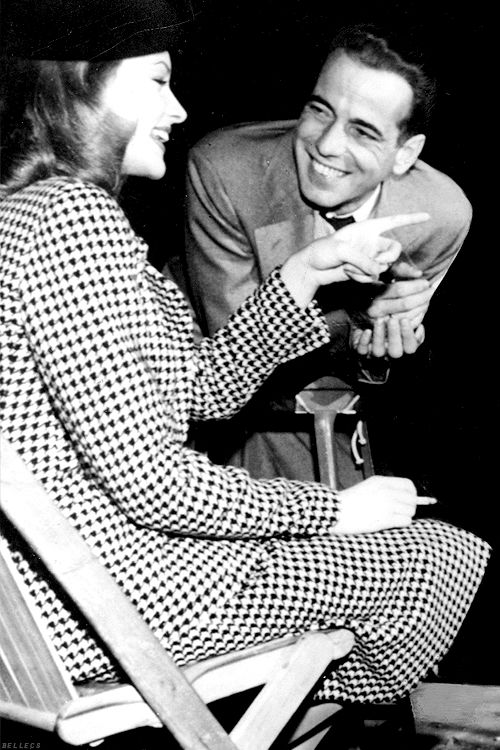 Lauren bacall and humphrey bogart on the set of to have for Lauren bacall married to humphrey bogart