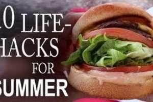10 life hacks for summer ^^