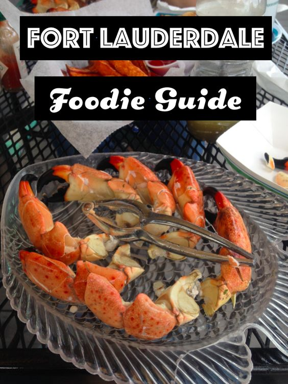 Fort Lauderdale Foodie Guide. Find the best places to eat in Fort Lauderdale for brunch, lunch, and fine dining.