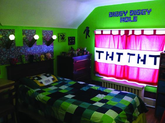 22 Minecraft Bedroom Ideas Taken From Pinterest The Architecture Designs Minecraft Room Decor Minecraft Bedroom Decor Minecraft Room