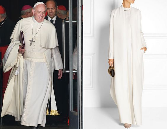 Most heavenly coat ever conceived. Pope Francis would agree. Get it here.