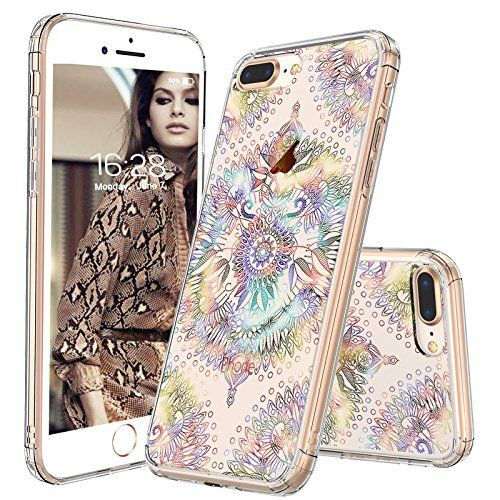 Amazon Com Iphone 8 Plus Case Iphone 7 Plus Case Mosnovo Gradient Galaxy Mandala Printed Clear Design Plastic Hard Iphone Iphone 8 Plus Iphone 7 Plus Cases