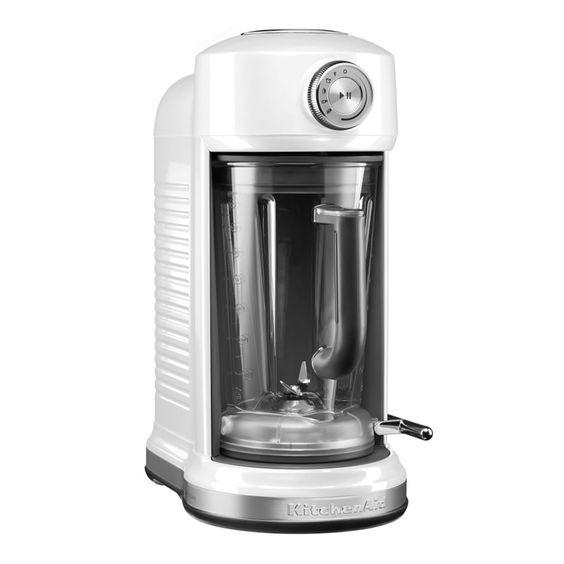 KitchenAid Artisan Magnetic Brive Blender Frosted Pearl - (KSB5080BFP) - eCookshop