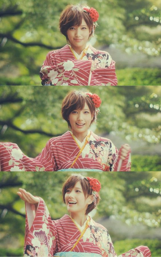 kawaii kimono : Tsubasa Honda