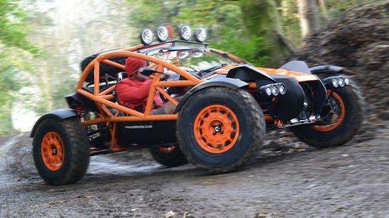 Ariel Nomad buggy - At its heart is a Honda-sourced 2.4-litre four-cylinder VTEC engine, here tuned to produce 235bhp at 7,200rpm, while serving up 221lb ft of torque. The result is a 0-60mph sprint of 3.4 seconds and a 136mph top speed