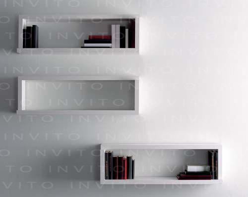 Juego de repisas desplazables se pueden acomodar de diferente tamaño para adecuarlo a las necesidades y estética de cada espacio