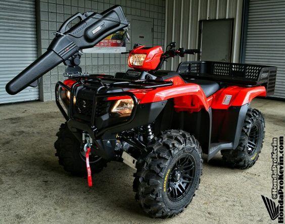 Drop Down Hitch >> Custom 2016 Honda FourTrax Foreman 500 ATV | ITP SS316 ...