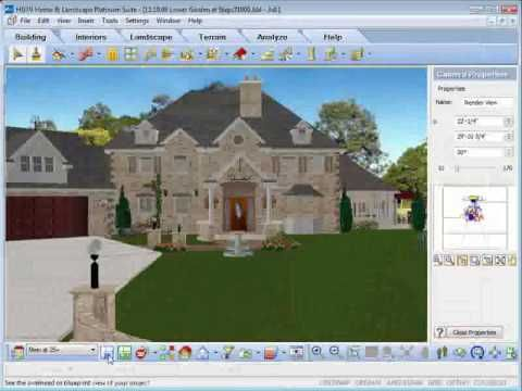 hgtv home design software rendering animation house