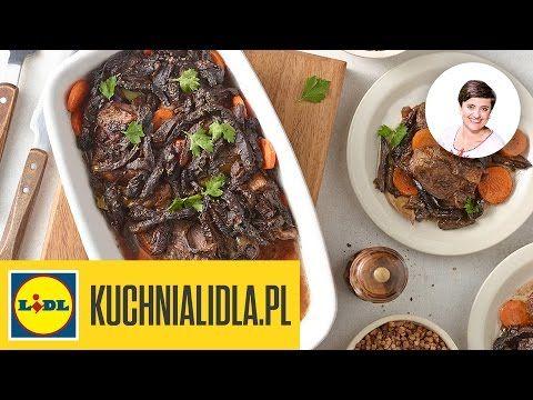 Piers Gesi Z Grzybami Basia Z Podlasia Przepisy Kuchni Lidla Youtube Food Beef Meat