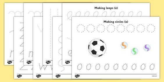 handwriting fine motor and learning on pinterest. Black Bedroom Furniture Sets. Home Design Ideas