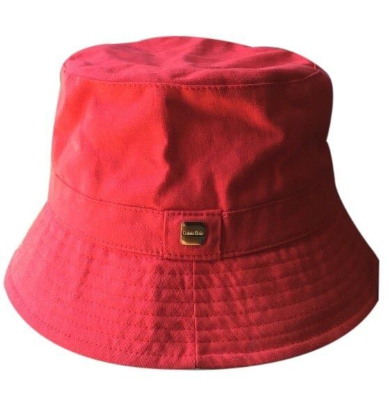 969a26de0a0 Calvin Klein Red Bucket Hat  CalvinKlein  Bucket