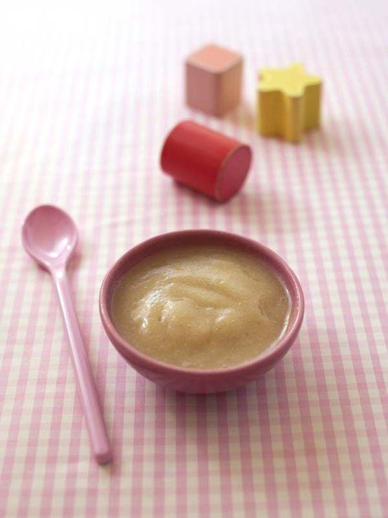 Compote pomme rhubarbe pour bébé | Biodélices