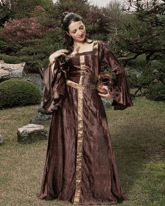 Mirabelle Medieval Dress -Historical Clothing Realm