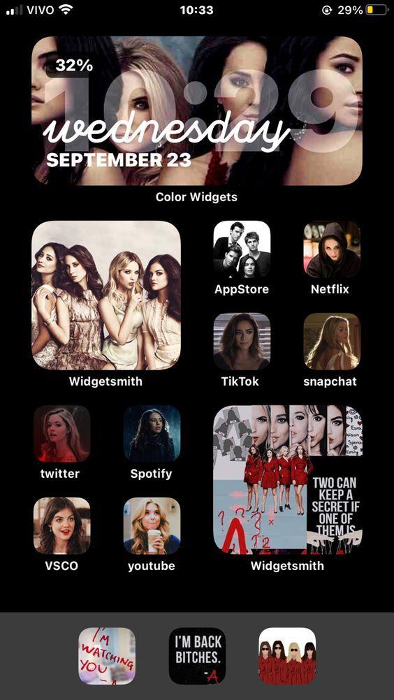 30 Movie Tv Home Screen Ideas In 2021 Homescreen Ios App Iphone Iphone Wallpaper App Pretty little liars iphone wallpaper