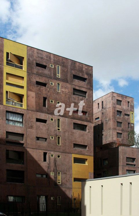 a+t - Beckmann-N\\\'Thépé. Social Housing Block Zac Masséna. Paris ...