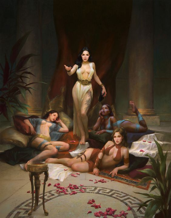 Harem: mooie slaven die echtgenote van de Sultans wilden worden, studeerden veel