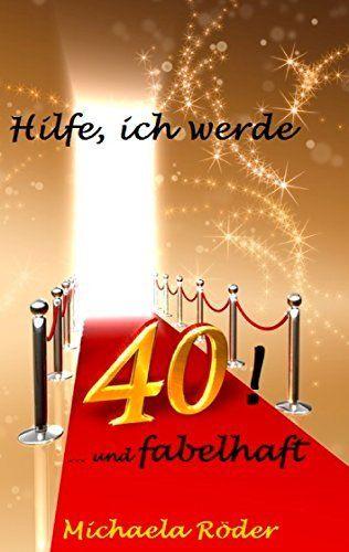 """""""Hilfe, ich werde 40! """",ist das Buch zum gleichnamigen Blog. Autorin und Bloggerin Michaela Röder, schrieb fast ein Jahr lang darüber, wie es sich anfühlt, 40 zu werden.   """"Gar nicht mal so schlecht"""", findet sie, als sie bemerkt, dass die Angst vor der 40 so etwas Ähnliches sein muss, wie die Annahme durch Diätpillen schlank zu werden. Hilfe, ich werde 40!: Oder: 40 und fabelhaft von Michaela Röder, http://www.amazon.de/dp/B00LTVLKVW/ref=cm_sw_r_pi_dp_iqxXtb1B0FG6D"""