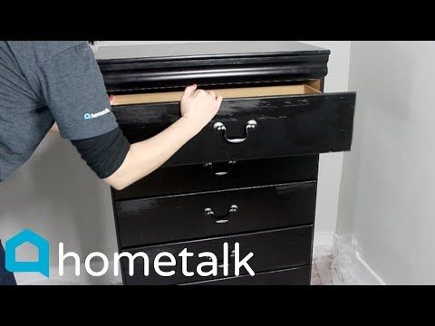 Peel And Stick Wallpaper Hack Give Your Old Dresser New Life With This Trick Hometalk Youtube Old Dressers Wallpaper Furniture Diy Dresser Makeover