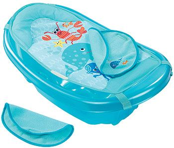 Babies R Us Step by Step Tub with Warming Wings - Sea