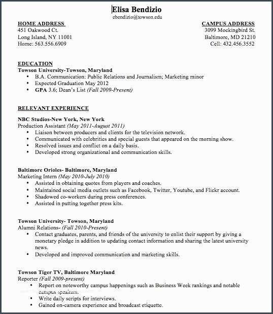 36 First Time Teacher Resume