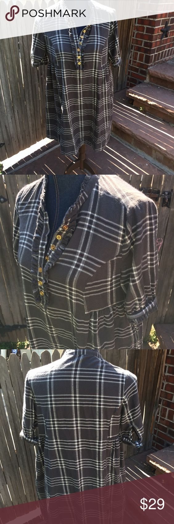 Juicy couture flannel plaid dress with pocket GUC Juicy couture flannel plaid dress with pocket GUC Juicy Couture Dresses