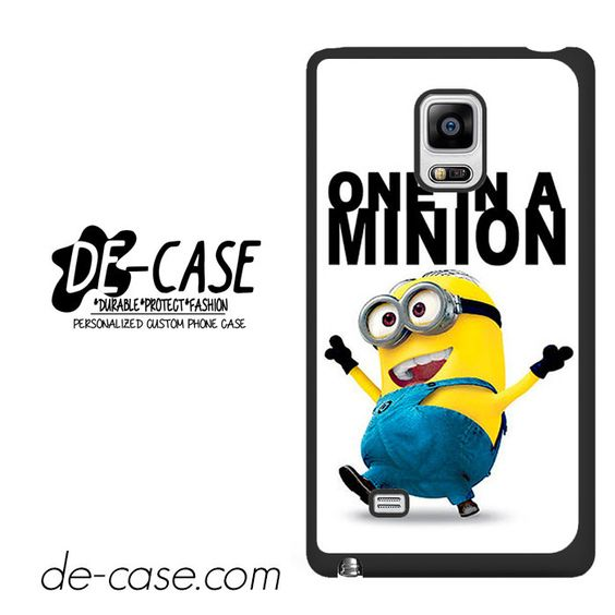 One In A Minion Despicable Me DEAL-8283 Samsung Phonecase Cover For Samsung Galaxy Note Edge