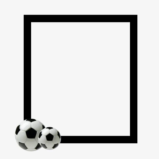 Clipart: soccer balls border | Soccer balls border background — Stock  Vector © hayaship #49022797